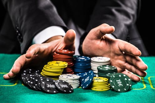 Poker rules for three of a kind